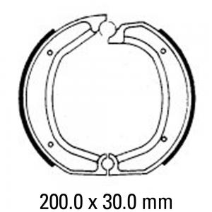 FERODO BRAKE SHOES FSB700