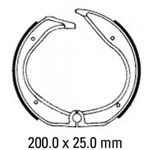 FERODO BRAKE SHOES FSB701