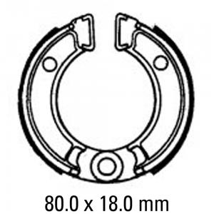 FERODO BRAKE SHOES FSB702