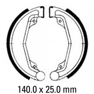 FERODO BRAKE SHOES FSB707