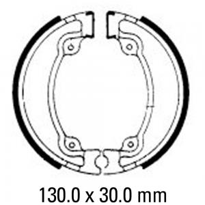 FERODO BRAKE SHOES FSB709
