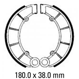 FERODO BRAKE SHOES FSB710