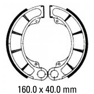 FERODO BRAKE SHOES FSB711