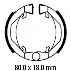 FERODO BRAKE SHOES FSB712