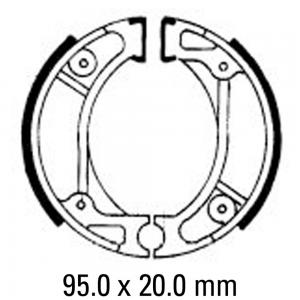 FERODO BRAKE SHOES FSB714