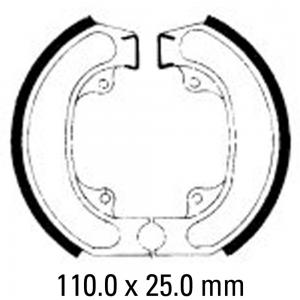 FERODO BRAKE SHOES FSB715