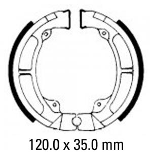 FERODO BRAKE SHOES FSB717