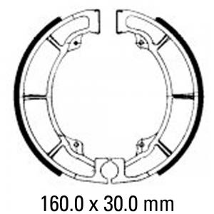 FERODO BRAKE SHOES FSB718