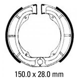 FERODO BRAKE SHOES FSB724