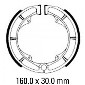 FERODO BRAKE SHOES FSB725