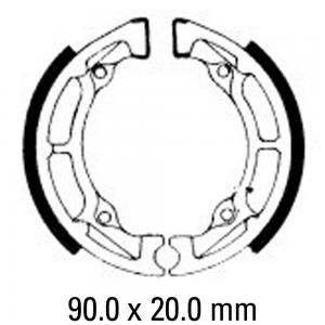 FERODO BRAKE SHOES FSB726