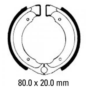 FERODO BRAKE SHOES FSB727