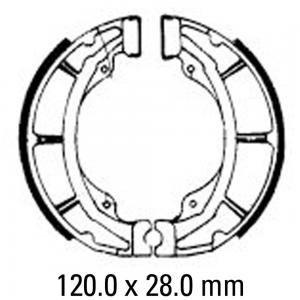 FERODO BRAKE SHOES FSB728