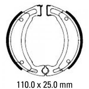 FERODO BRAKE SHOES FSB731EF