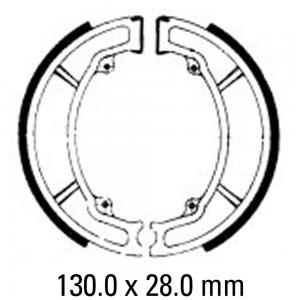 FERODO BRAKE SHOES FSB733