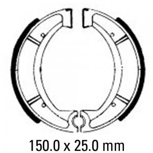FERODO BRAKE SHOES FSB734