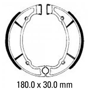 FERODO BRAKE SHOES FSB735