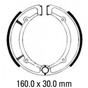 FERODO BRAKE SHOES FSB736