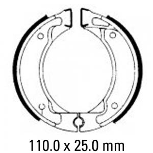FERODO BRAKE SHOES FSB738A