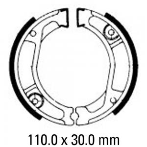 FERODO BRAKE SHOES FSB740