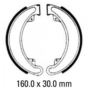 FERODO BRAKE SHOES FSB742