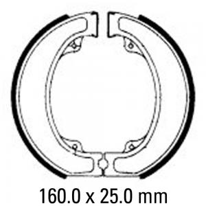 FERODO BRAKE SHOES FSB743