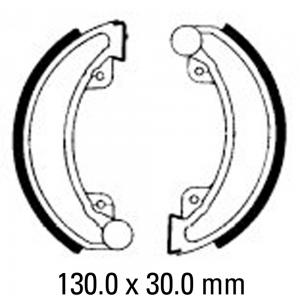 FERODO BRAKE SHOES FSB744