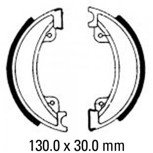 FERODO BRAKE SHOES FSB745