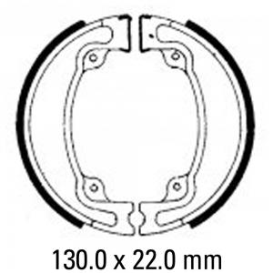 FERODO BRAKE SHOES FSB746