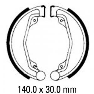 FERODO BRAKE SHOES FSB749