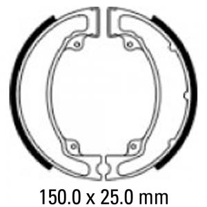 FERODO BRAKE SHOES FSB750