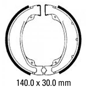 FERODO BRAKE SHOES FSB755