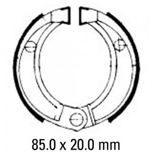FERODO BRAKE SHOES FSB756