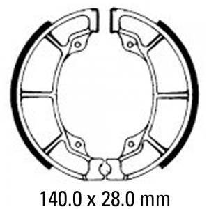 FERODO BRAKE SHOES FSB760