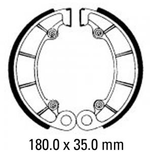 FERODO BRAKE SHOES FSB761