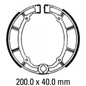 FERODO BRAKE SHOES FSB765
