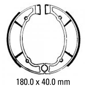 FERODO BRAKE SHOES FSB769