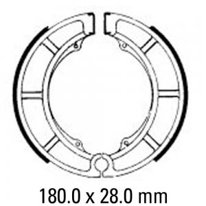 FERODO BRAKE SHOES FSB773