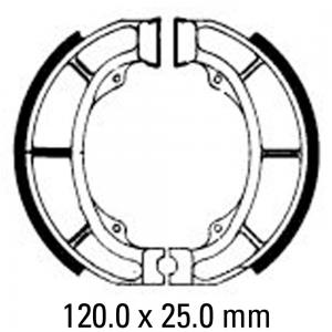 FERODO BRAKE SHOES FSB777