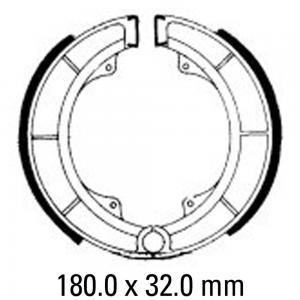 FERODO BRAKE SHOES FSB780