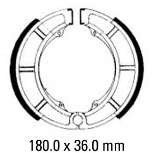 FERODO BRAKE SHOES FSB784