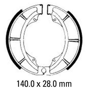FERODO BRAKE SHOES FSB785