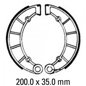 FERODO BRAKE SHOES FSB795