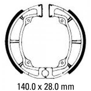 FERODO BRAKE SHOES FSB799