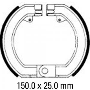 FERODO BRAKE SHOES FSB869