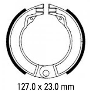 FERODO BRAKE SHOES FSB875