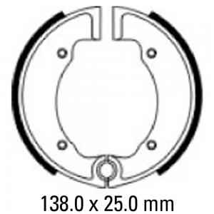FERODO BRAKE SHOES FSB916 858