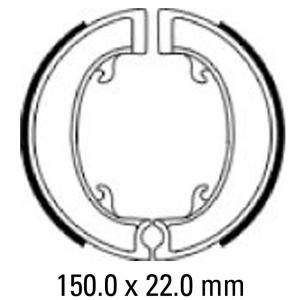 FERODO BRAKE SHOES FSB918