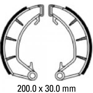 FERODO BRAKE SHOES FSB920