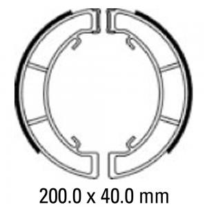 FERODO BRAKE SHOES FSB921